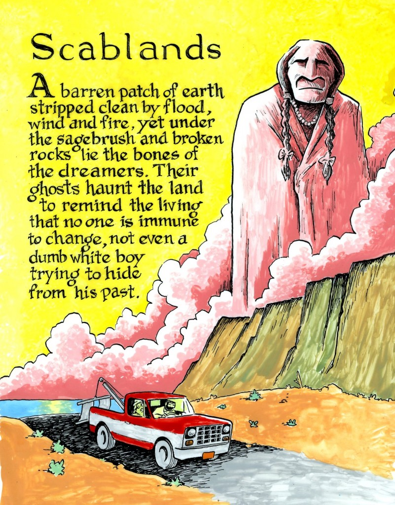 Scablands Back Cover522