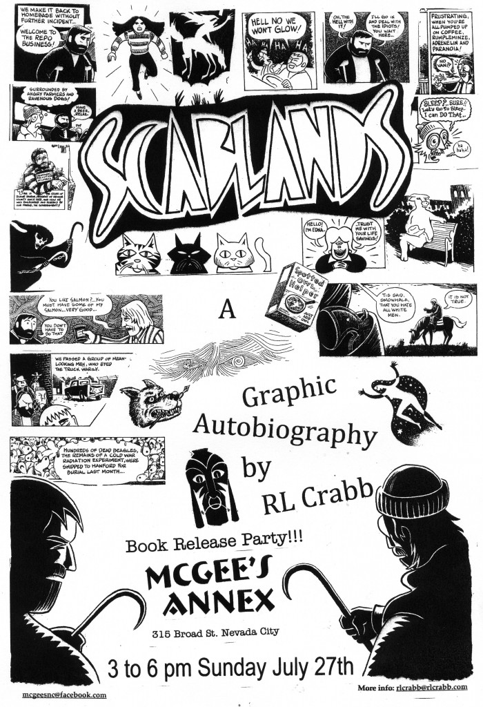 Poster Scablands615