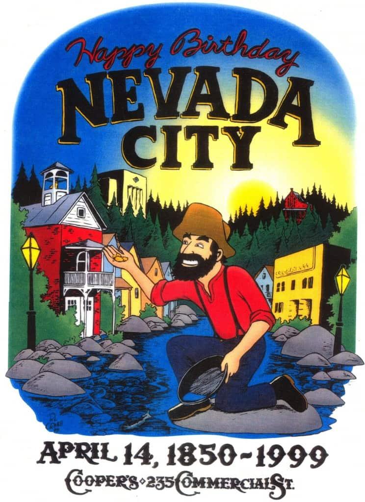 Happy Birthday Nevada City